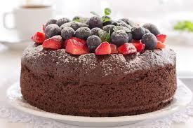 Torta mirtilli e fragole